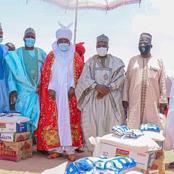 Gombe State Governor Distributes Ramadan Food Items