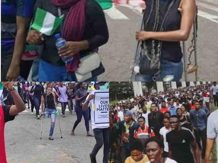 This is Good! Youths Raise N4.1m To Get Prosthetic Leg For one of the EndSARS Protester Without Limb