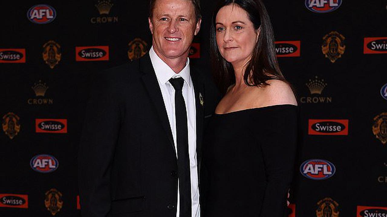 Damien Hardwick's heartbroken ex-wife breaks her silence on their shock split and hits out at the 'selfish' AFL coach and footy culture - as she reveals why she is still KEEPING his surname