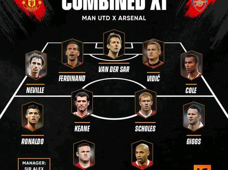 OPINION: Manchester United & Arsenal Best Combined 11 Of Premier League Era