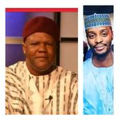 This boy Lacks Respect! Read What El-Rufai's son said to Mailafia, following the disclosure he made
