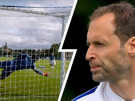 Cech shows sharp goalkeeping skills, Ziyech on fire in shooting drill from pre-United training
