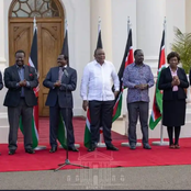 Ahmednasir Explains Standing Arrangement at Statehouse With President Uhuru, Says It's a Signal