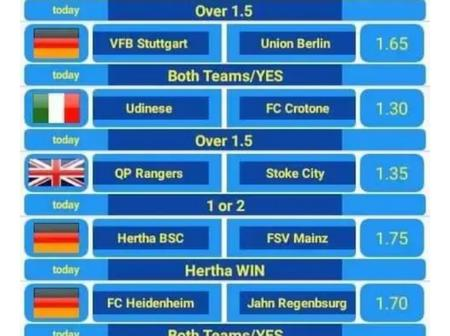 Eight (8) GG Special Games With Amazing Odds To Place and Earn Huge Today
