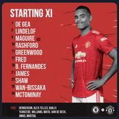 McTominay and Havertz starts as official Chelsea vs Manchester Utd Lineups confirmed
