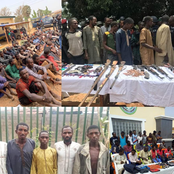 Abba Kyari Unveil Faces Of Arrested Bandits, See Their Pictures