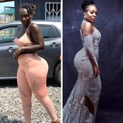 Between Nigerian Curvy Moet Abebe And Ghanaian Curvy Choqolate GH, Who Is Better?
