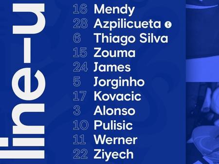 Thiago Silva and Christian Pulisic start for Chelsea as Thomas Tuchel name strong squad.