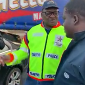 Watch Video, Police catch a foreigner driving a Mercedes Benz, but its registered as a Toyota Hilux.