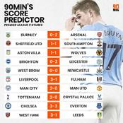 Possible Outcome Of Premier League Weekend Fixtures - Chelsea And Man Utd Could Drop Points