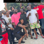 Amid cheating rumours, Davido flaunts his stay in Sint Maarten with his gangs and fans (see Photos)