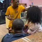 A Nigerian Man Found His South African Girlfriend Cheating On Him And Did This To Her