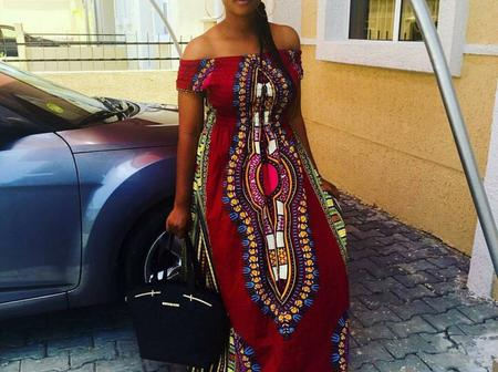 Ladies, Check Out Some Beautiful Ankara Long Gown Styles You Can Sew