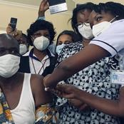 Its official! The First Kenyan Has Been Vaccinated Against The Corona Virus