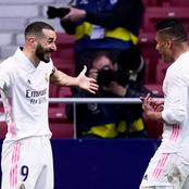 Real Madrid Undefeated In Last Ten Matches Against Atletico Madrid In La Liga