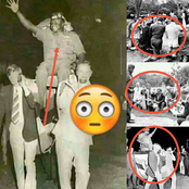 Rare Photos Of Idi Amin Being Carried In A Chair Like A King By Whitemen Which Shows Power Emerges