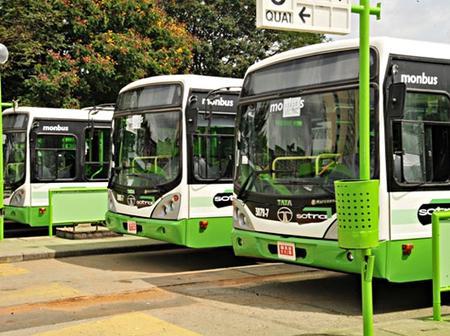 Transports : 73 bus neufs déployés sur huit lignes dès la rentrée scolaire 2021-2022, à Bouaké