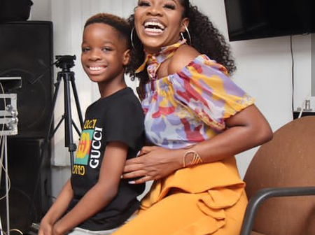 Meet WizKid's First Baby Mama, Check Out Some Pictures Of She and Her Son