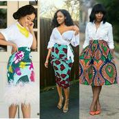 12 Classic ways to rock Ankara Skirts