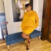 'Unavaa Handkerchief!'-Netizens React To Betty Kyallo's Short Dress