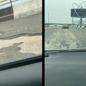 Third mainland bridge finally opened, after six months of closure. See how it looks
