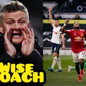 See the 'Wise Thing' Solskjaer Did As Man United Won 3-1