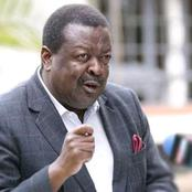 Mudavadi Takes Ruto Head-On During Kameme Radio Interview, Challenges Him To Resign