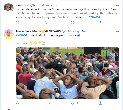Nigerians react after Super Eagles threw away four-goal lead to draw 4-4 with Sierra Leone in AFCON qualifying match?