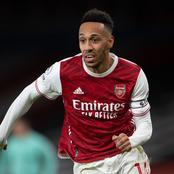 Pierre-Emerick Aubameyang's information regarding his speed against other players
