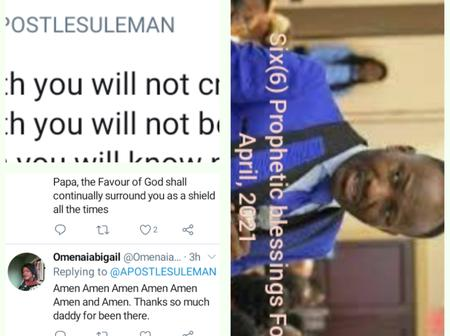 Reactions, as Apostle Johnson Suleman of OMFM releases 6 prophetic blessings for the month of April.