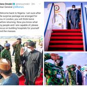 Reno Omokri Send Message To President Buhari As He Returns Back To Abuja After A Trip To UK