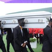 Sad News As Former Abia State PDP Chairman is Buried in His Home Town in Abia State (Photos)
