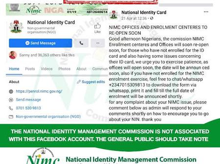 What you should know about the ongoing NIMC online registration