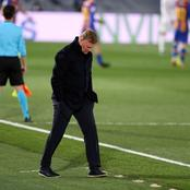 Barca Manager equals unwanted record after defeat to Real Madrid last night