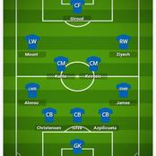 How Chelsea could finish off Porto with this Lineup.