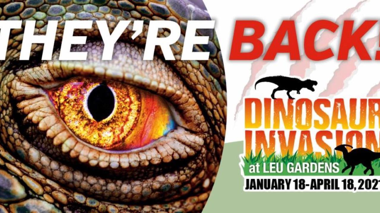 Leu Gardens Dinosaur Invasion 2021