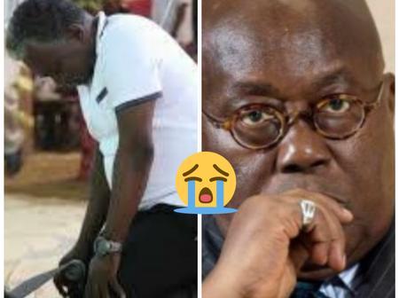 I See Nana Addo Cry