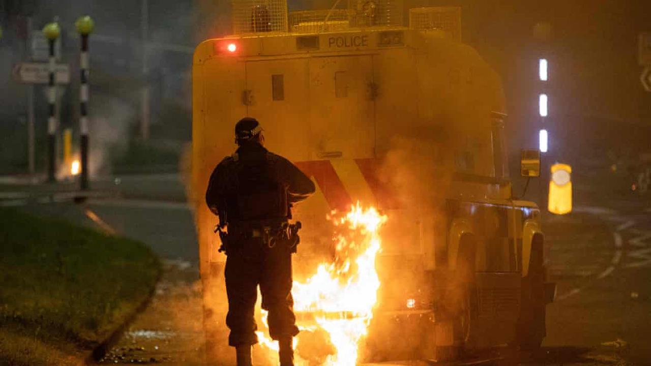 55 police officers injured over past six nights of trouble