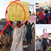 As EndSARS Protest Is Going On, See What Muslim Youths Are Protesting Against In Sokoto (photos)