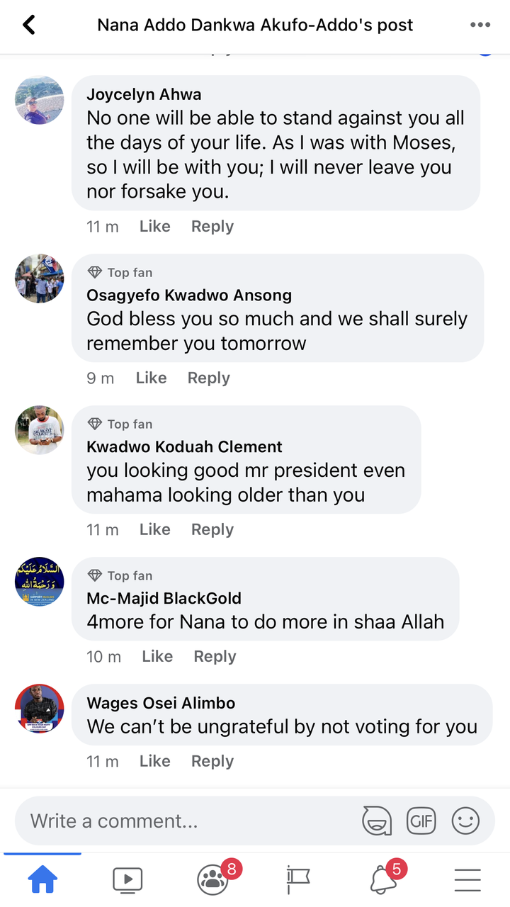 """29452452c89e855f2869fb6403307cfc?quality=uhq&resize=720 - """"We can't never be ungrateful"""": Ghanaians React To President Akufo-Addo's Nation Address Positively"""