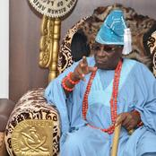 Reactions As Oba of Lagos Says $2m, N17m Stolen From His Palace
