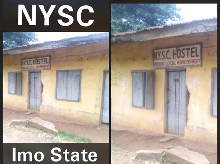 Picture of NYSC camp in Imo State causes mixed reaction because of its bad condition - Photos