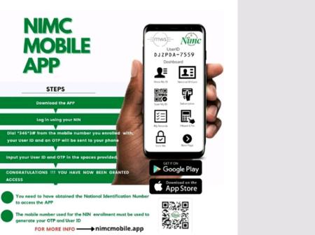 NIMC Launches New Mobile App And Improved NIN Slips For SIM-NIN Linkage For Public Use.