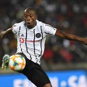 Ben Motshwari cost Orlando Pirates a third spot in the Dstv Premiership table