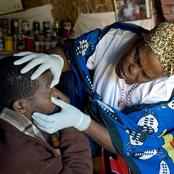 Few traditional healers receive PPE.