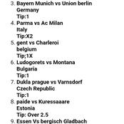 Today's Accurate Football Predictions that will Win.