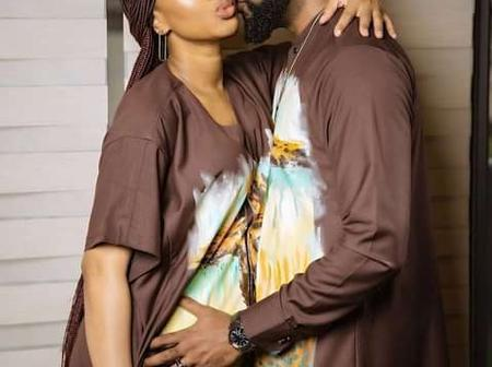Adesuwa Etomi And Banky W Share Dazzling New Photos(see photos)