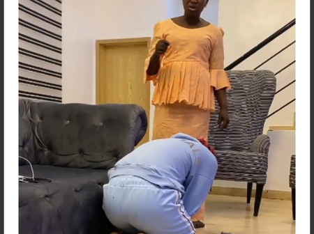 Popular singer shows off his mum praying for him at midnight on his birthday (video)