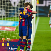 Messi Scores Twice, As Barcelona Beat Elche 3-0 At Camp Nou, See Photos.