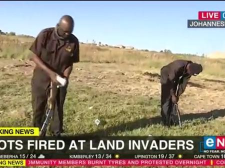 Rabie Ridge, shots fired at land invaders